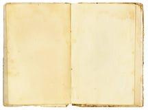 Open Vintage Book stock photos