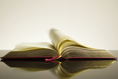 Open vintage book Stock Photography