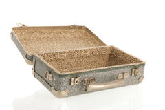 Open vintage suitcase Royalty Free Stock Photography