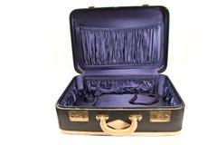 Open vintage suitcase Royalty Free Stock Photo