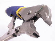 Open vise grips Stock Image