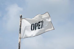 Open voor zaken Stock Afbeelding