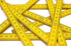 Open Vouwmeter Stock Fotografie