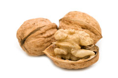 Open walnut Royalty Free Stock Photo