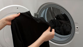 Open washer Royalty Free Stock Image
