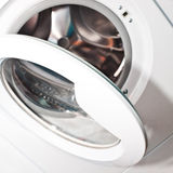 Open the washer door Stock Images