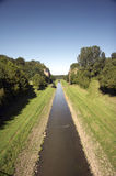 Open waste water canal EMSCHER 01 Stock Image