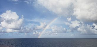 Open Water Rainbows royalty free stock images