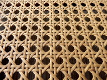 Open Weave Rattan Cane Royalty Free Stock Image