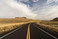 Open Weg Twee de Staat de V.S. van Oregon van de Steegweg royalty-vrije stock fotografie