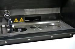 Open werkende kamer van een laser sinterende machine voor metaal Stock Foto