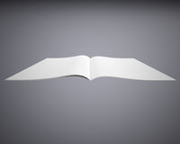 Open white book Stock Photo