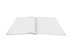 Open white book Royalty Free Stock Photography