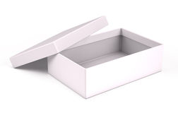 Open white box Stock Photo