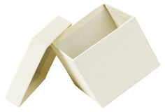 Open white box Royalty Free Stock Images