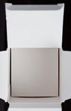 Open white box stock photos