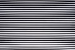 Open white venetian blinds Royalty Free Stock Photos