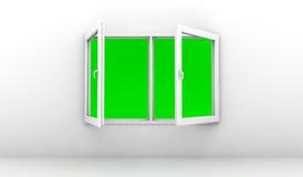 Open window Royalty Free Stock Photos