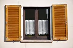 Open window Stock Photo