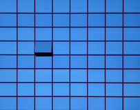 Open window 2. Open window on the office building Royalty Free Stock Photos