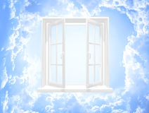 Open window Royalty Free Stock Image