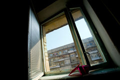 Open window Stock Photography