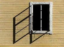 Open window casting shadow Stock Image