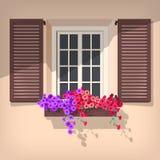 Open window Stock Images