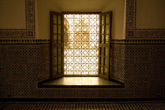 Open window in Morocco Stock Photos