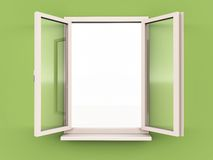 Open window of opportunity Stock Photo