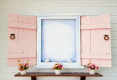 Open Window. A pic of vintage window Stock Photography