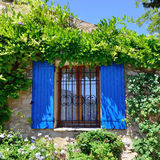 Open window. Provence Royalty Free Stock Photography