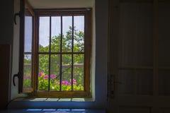 Open window seen from inside Royalty Free Stock Image