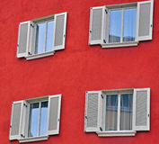 Open windows Royalty Free Stock Photography