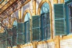 Open windows Royalty Free Stock Photos