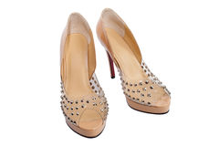 Open women's shoes royalty free stock image