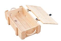 Open Wooden Box Royalty Free Stock Photos