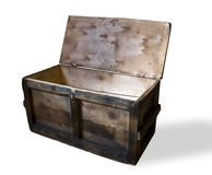 The open wooden box stock images