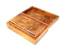 Open wooden box (Myanmar style) Stock Image