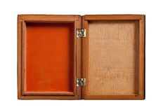 Open wooden box, Royalty Free Stock Images