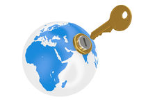 Open the world Royalty Free Stock Photo