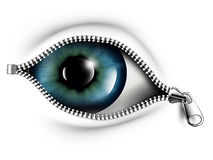 Open your eyes Royalty Free Stock Photos