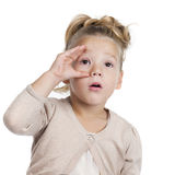 Open your eyes Royalty Free Stock Photo