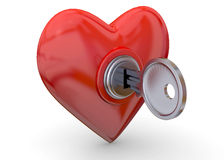 Open Your Heart - 3D Stock Photography