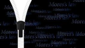 Open zipper, fastener, zip, buckle with clear background Stock Image