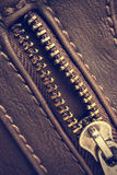 Open zipper Stock Image