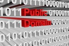 Openbaar domein stock illustratie
