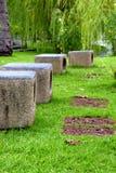Openbaar park royalty-vrije stock afbeelding