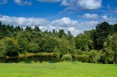 Openbaar park Royalty-vrije Stock Foto's