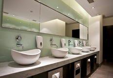 Openbaar toilet stock afbeelding